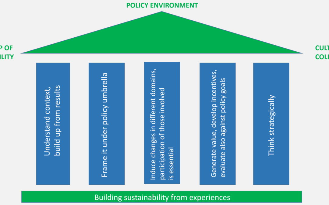 Learning from original Good Practices: Core elements of sustainability